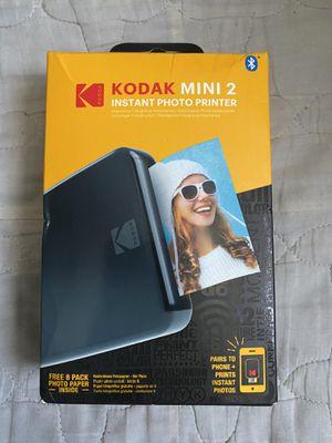 Bluetooth Kodak mini 2 instant photo printer for Sale in Las Vegas, NV