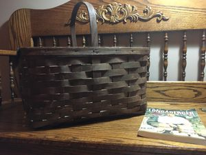 Vintage Longaberger Market Basket signed by Dave for Sale in Crown Point, IN