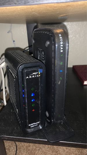 Router and modem . for Sale in Chandler, AZ