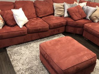 3 Pc Sectional Sleeper Sofa With Ottoman for Sale in Stone Park,  IL
