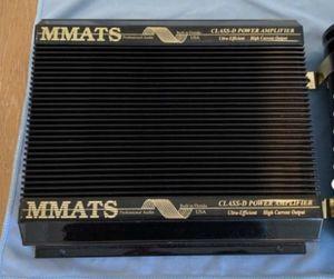 2 MMATS DH200c / 3 Kicker ZR 120 Power Amps for Sale in Miami, FL