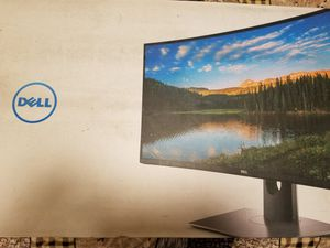 Dell 34 inch curved moniter for Sale in Fresno, CA