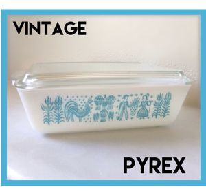 Vintage 50s Pyrex Amish Butterprint casserole for Sale in Wakefield, MA