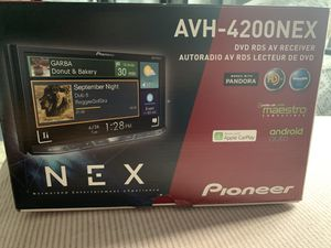 """Pioneer AVH-4201NEX Multimedia DVD Receiver w/ 7"""" WVGA Touchscreen Display for Sale in Queens, NY"""
