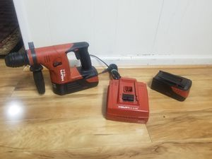 Lightly used hilti 36v hammer drill kit. Offers welcome for Sale in Fort Belvoir, VA