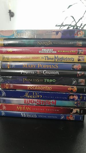 Disney DVD movie collection $3 each, 5 for $10 for Sale in Monroe, WA
