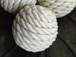 """New NAUTICAL rope balls, 4"""" diameter, table decor , three balls for $15( firm) for Sale in Chula Vista, CA"""
