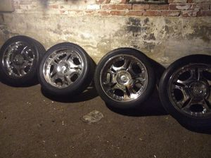 """23"""" rims with tires for Sale in Reading, PA"""