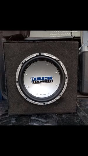 """10"""" jack hammer sub and box for Sale in Norco, CA"""