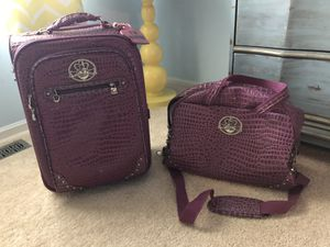 Kathy Van Zeeland luggage and carry on bag for Sale in Sewell, NJ