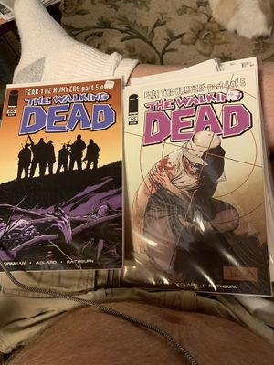 Image Comics The Walking Dead no 65 & 66 for Sale in Virginia Beach, VA