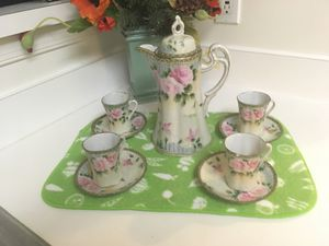 Nippon hand painted antique coffee set for Sale in Ashburn, VA