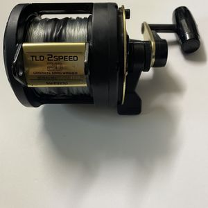 Shimano TLD 20 • 2speed Fishing Reel $170 for Sale in Huntington Beach, CA