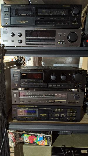 Vintage stereo gear receivers amps marantz pioneer Sony for Sale in Salem, OR