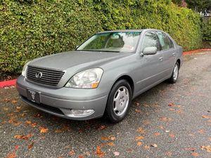 2002 Lexus Ls 430 for Sale in Everett, WA