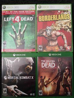 Mortal Kombat/Left For Dead for Sale in Lynnwood, WA