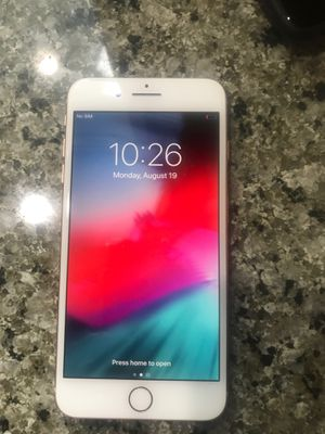 IPhone 8 Plus 64 atnt and cricket and h2o only with case for Sale in Lynnwood, WA