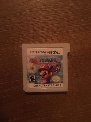 Nintendo 3ds Mario party for Sale in undefined