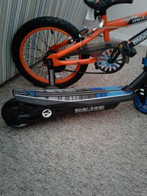 Electric Scooter And The Bicycle for Sale in Ruskin, FL