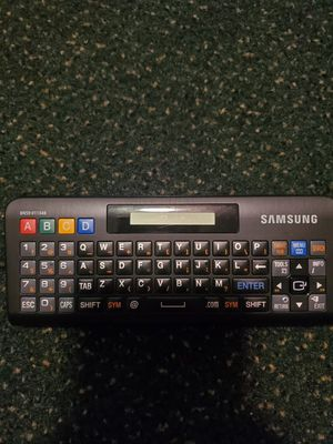 Samsung qwerty keyboard remote for Sale in Watertown, NY