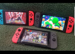 Nintendo switch Software M0D NOT SELLING THE SYSTEM read please for Sale in Santa Ana, CA
