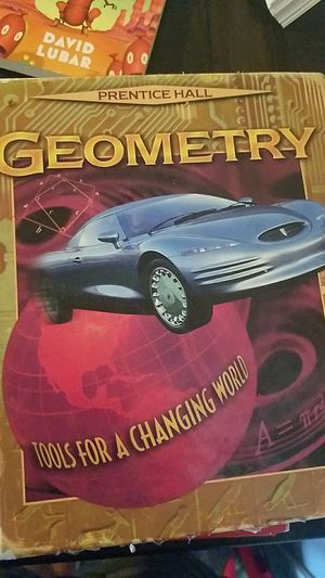 Geometry textbook for Sale in Riverside, CA