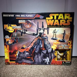 Star Wars Action Figures Vintage Mustafar Final Duel Playset for Sale in Concord, CA