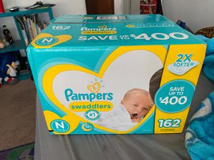 Pampers Swaddlers for Sale in Pico Rivera, CA