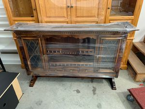 Misc. furniture/entertainment center/shelf's for Sale in Medford, OR