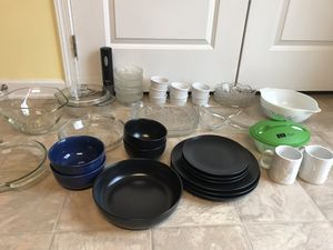 Lot of 37 random kitchen items all for $35 for Sale in Ashburn, VA