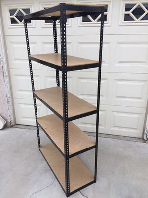 5 Shelf Metal Frame Storage Unit (#2) for Sale in Wilmington, CA