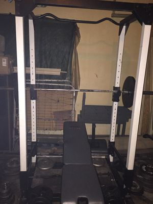 FULL BODY WORKOUT STATION. RETAILS FOR $1999 for Sale in Clinton, MS