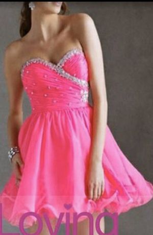 2020 Homecoming Prom Dress A Line Short/Mini Chiffon Size 2 Never Worn for Sale in Riverview, FL