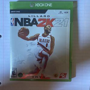 NBA 2k21 for Sale in Wildomar, CA