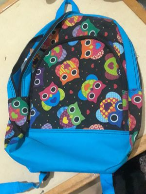 Owl back pack $8.00 cash only (serious buyers) ages 4-6 for Sale in Dallas, TX