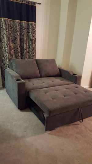 Brand new sleeper sofa (futon) sofa with pullout bed for Sale in Silver Spring, MD