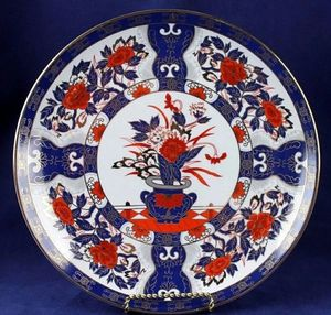 Eiwa Kinsei Japan Floral Porcelain Plate for Sale in San Diego, CA