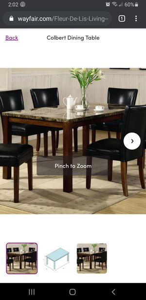 Beautiful Dining room table! for Sale in Pompano Beach, FL