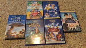 6 Disney DVDs for Sale in Saint Cloud, FL