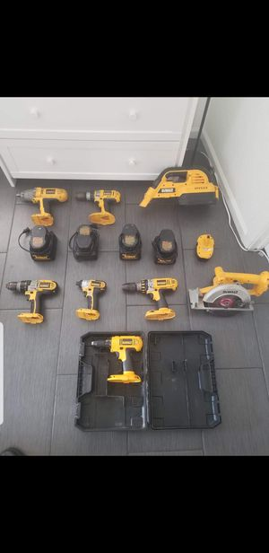 Dewalt tools for Sale in Tacoma, WA