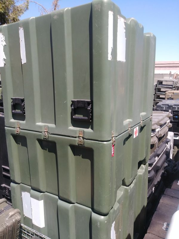 Large Hardigg Shipping and Storage Case with Forklift Wells