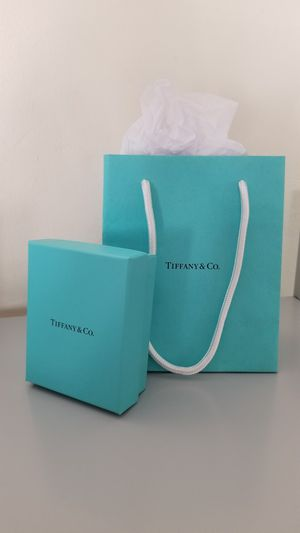 Authentic Tiffany & Co box and bag for Sale in City of Industry, CA