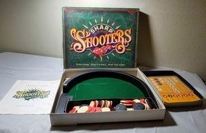 Vintage 1994 Sharp Shooters Dice Board Game Milton Bradley for Sale in San Antonio, TX