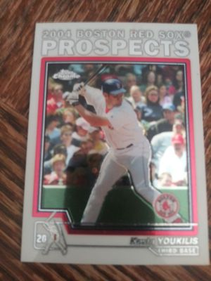 Kevin youkilis rookie for Sale in Wichita, KS
