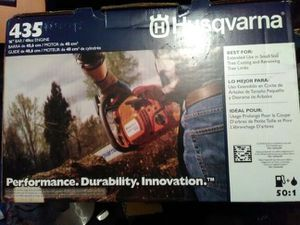 Husqvarna 435 Chainsaw brand new still in the package for Sale in Portland, OR