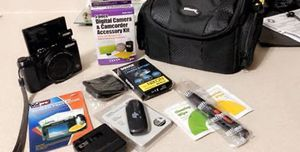 Nixon Coolpix Camera and extras for Sale in Cameron, NC