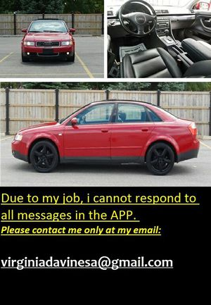 2OO3 AUDI A4 92,OOO MILES for Sale in Austin, TX