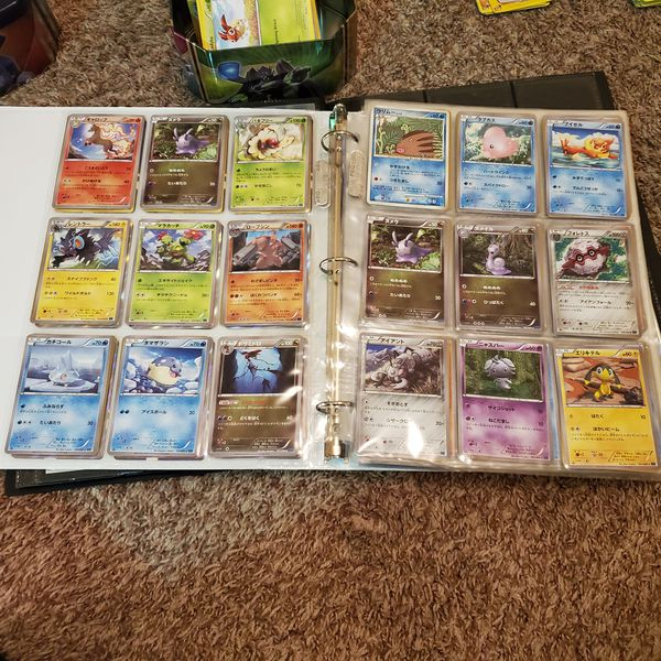 Japanese Pokemon Card Collection