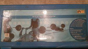 York Pro Spirit 100 lb weight set for Sale in Swampscott, MA