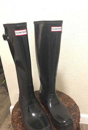 Rain boots (used last winter) for Sale in Portland, OR